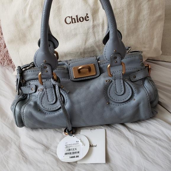 c6ff3797 Authentic Chloe Paddington bag